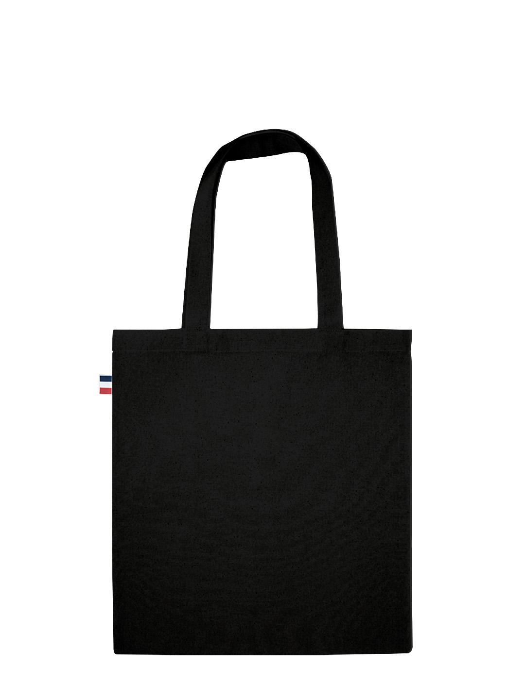 tote bag noir Fériel 01